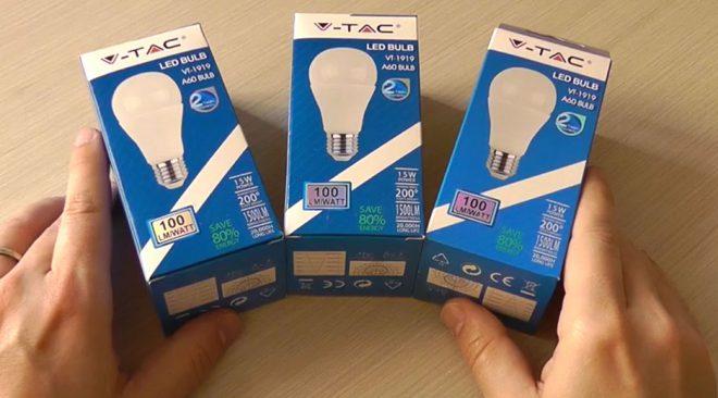 V-Tac VT-1919 LED E27 15W