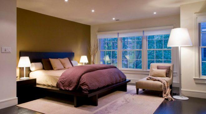 Illuminare la camera da letto senza lasciare nulla al caso