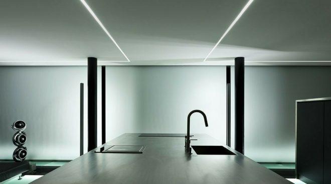 Illuminazione a Led in tutta la cucina è possibile