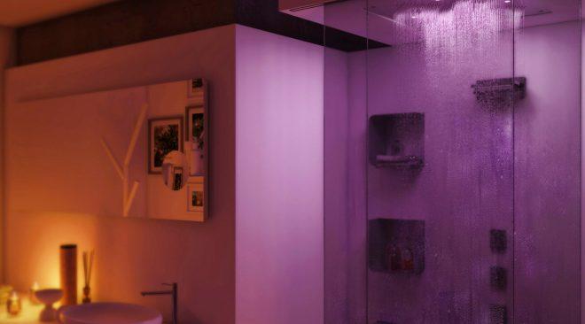 Come illuminare la doccia di casa con la cromoterapia
