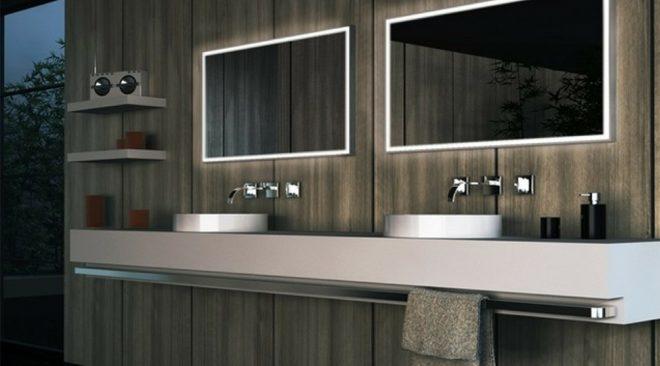 3 modi diversi per illuminare lo specchio da bagno - Modi per andare in bagno ...
