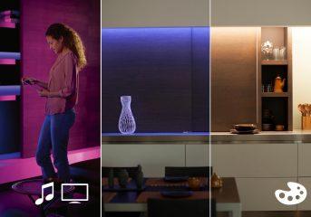 Philips Hue Lightstrip Plus, la striscia LED che si colora come vuoi