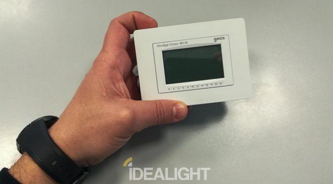 Recensione GecApp Crono Wi-Fi, cronotermostato touch