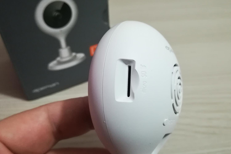 Telecamera Apeman slot microSD