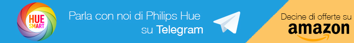 Banner canale Telegram Philips Hue Smart