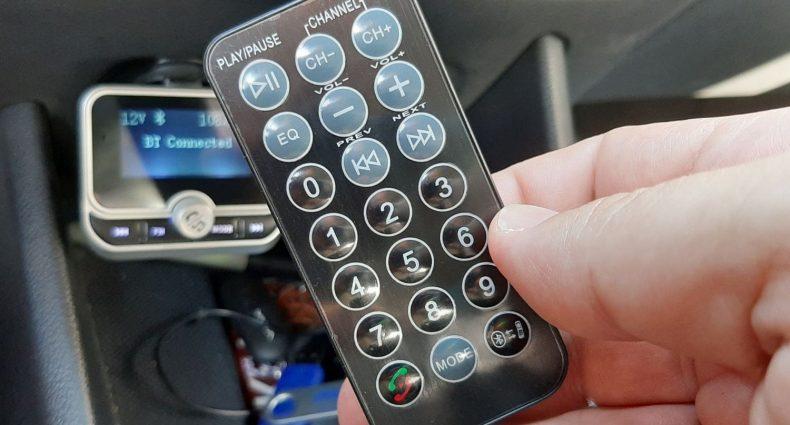 Il telecomando a 21 tasti del trasmettitore Clydek