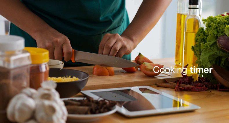 Cooking timer è la funzione per attivare le tue luci Hue in cucina