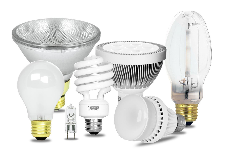 differenti tipi di lampadine