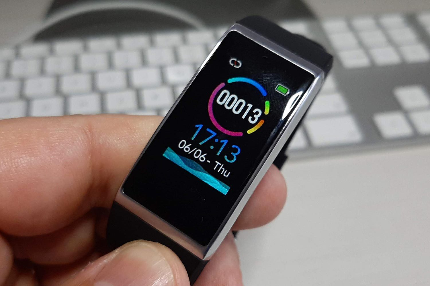 Display LCD HD del fitness tracker Holalei