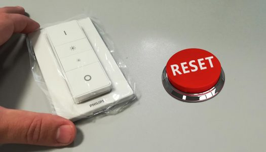 Come resettare il tuo Hue Dimmer Switch