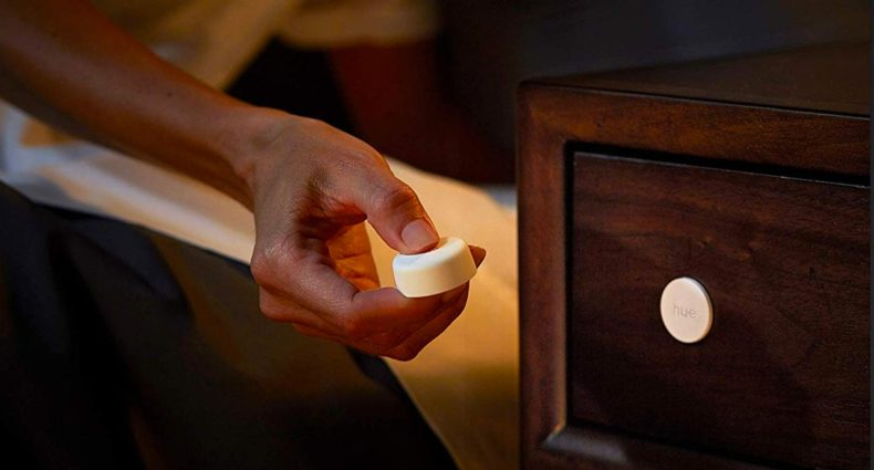 Hue Smart Button è il telecomando Philips a forma di bottone