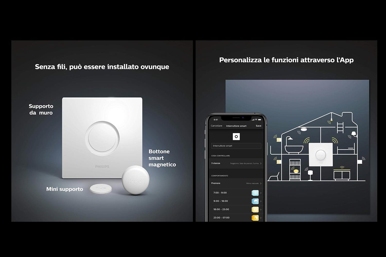 Tutte le funzioni di Hue Smart Button