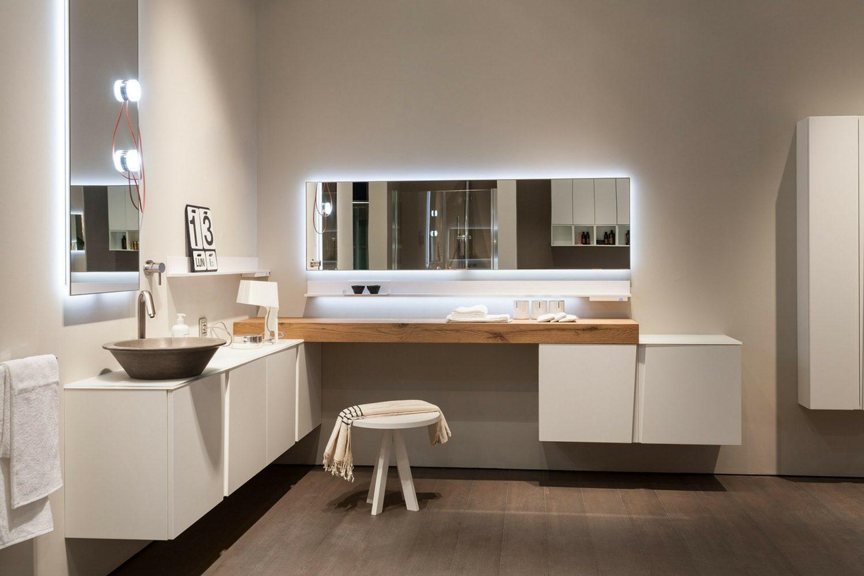 Esempio di illuminazione in bagno