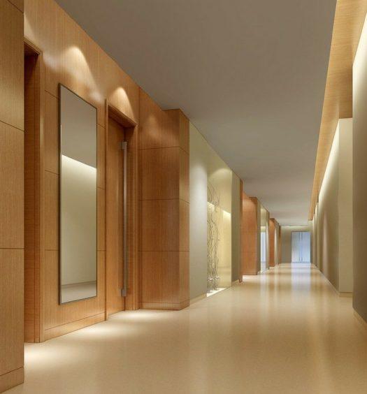 Illuminazione del corridoio
