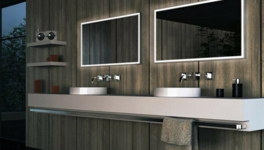 3 modi diversi per illuminare lo specchio da bagno