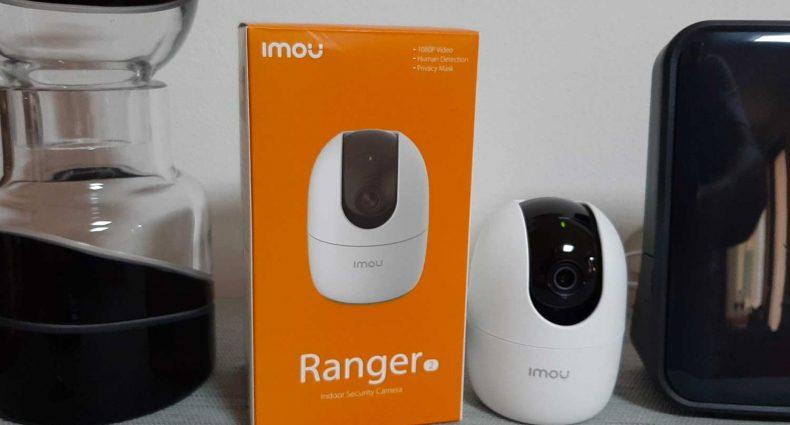 Confezione e telecamera wifi Ranger 2 Imou