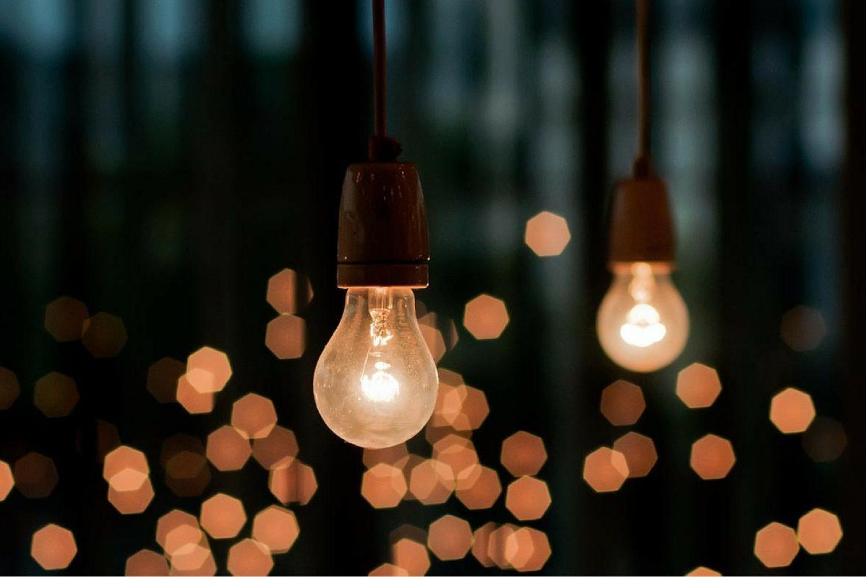 lampadine in giardino