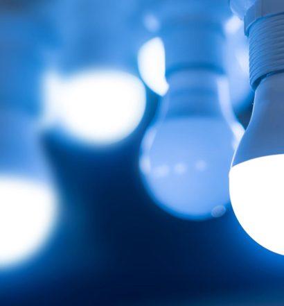 Lampadine LED lampeggiano