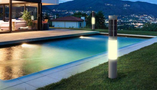 Lampioni da giardino solari, favorevoli o contrari?
