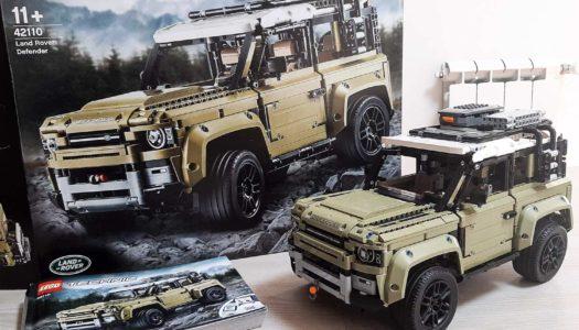 LEGO Technich Land Rover Defender, un auto da urlo