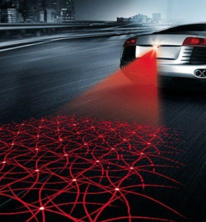 Luce laser nelle auto