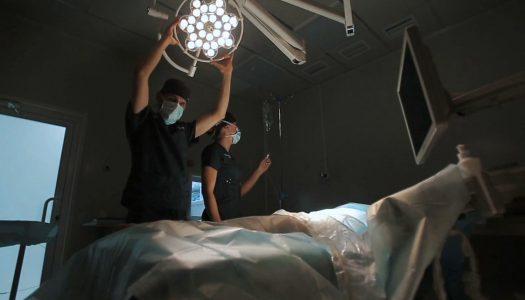 Illuminazione scialitica per la sala operatoria a LED