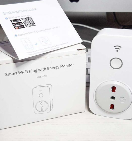 Confezione della presa smart wifi di Meross