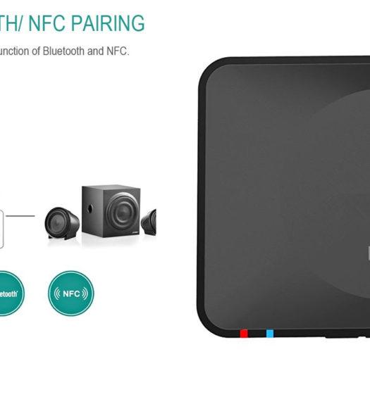 Oittm NFC bluetooth audio receiver