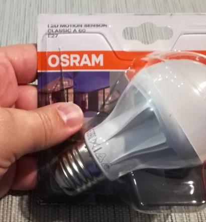 Osram Led Motion Sensor E27