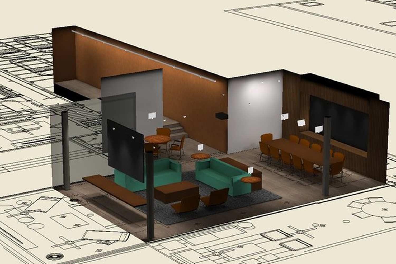 Esempio di realizzazione per interni abitazione con Litestar