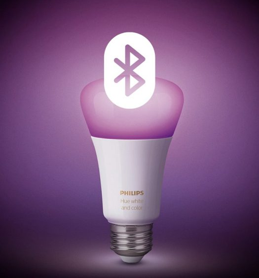 Nuove lampadine Philips Hue Bluetooth