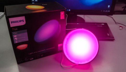Recensione lampada portatile Philips Hue Go