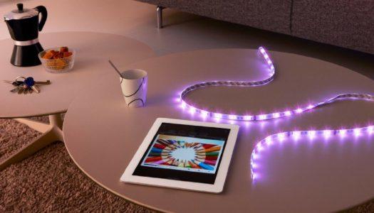 Philips Hue lightstrip plus fra flessibilità e tanto colore