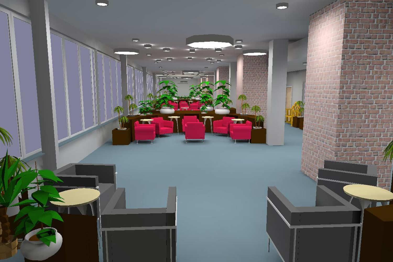Esempio di simulazione illuminotecnica effettuata con software di calcolo