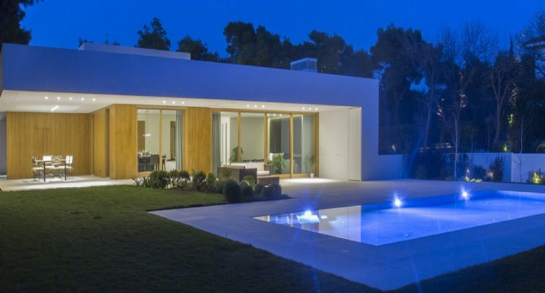 Illuminazione residence Ekali