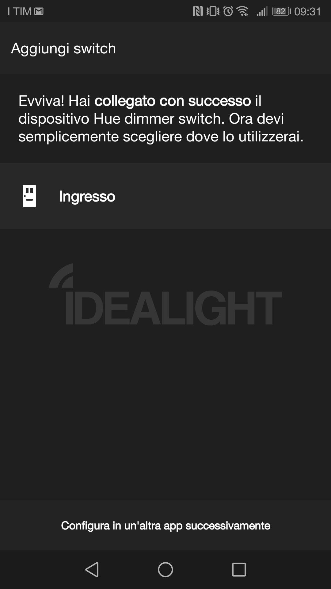 Schermata Hue App accessori 7