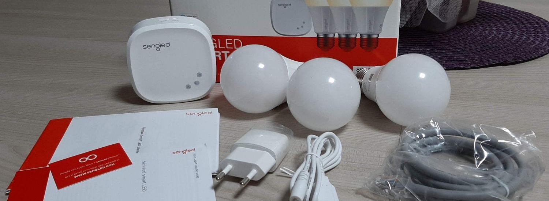 Sengled Kit 3 luci E27 con Hub