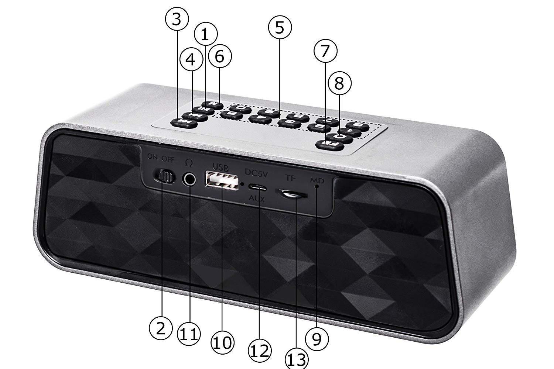 Tasti speaker Sumgoot F6