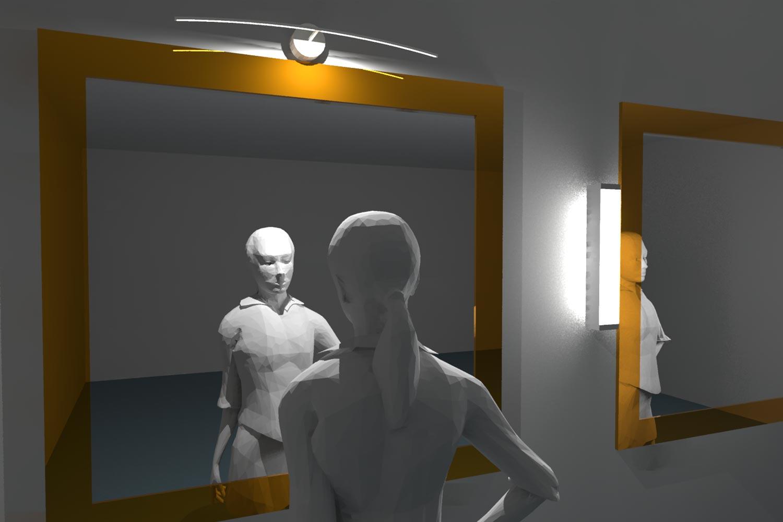Lampada Sopra Specchio Bagno cosa fare e non fare per illuminare lo specchio da bagno