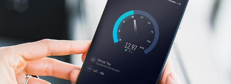Speedtest su smartphone
