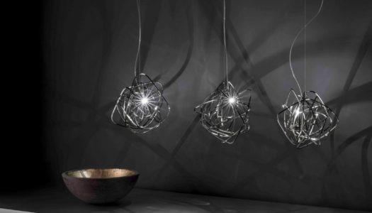 Simone Micheli disegna Doodle, una lampada unica in tutto