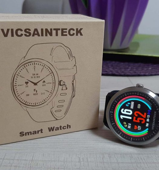 Confezione dello Smart Watch Vicsainteck